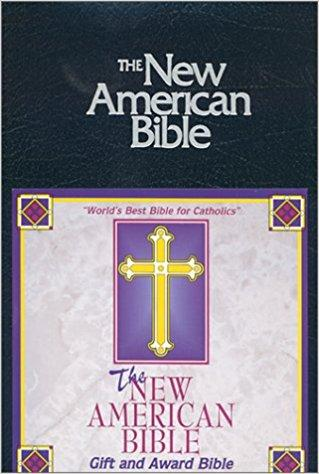 The New American Bible N.A.B. Gift & Award Bible (Blue) Leatherette - Unique Catholic Gifts