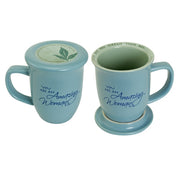 Amazing Woman Blue Mug & Coaster Set - Unique Catholic Gifts