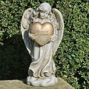"12.25""H MEMORIAL HEART ANGEL - Unique Catholic Gifts"