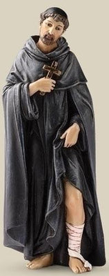 St. Peregrine statue - Patron saint for Cancer 6.25 inches - Unique Catholic Gifts