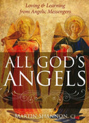 All God's Angels: Loving and Learning from Angelic Messengers by Martin Shannon - Unique Catholic Gifts