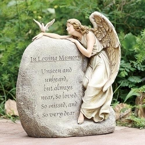 Garden Statue Memorial Stone - Unique Catholic Gifts