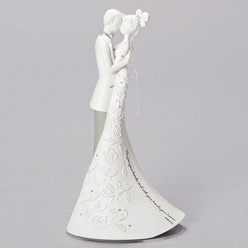"9""H First Dance Cake Topper Figure; Language of Love - Unique Catholic Gifts"