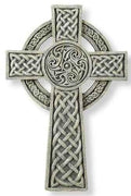 "Celtic Wall Cross (9 1/2"")"
