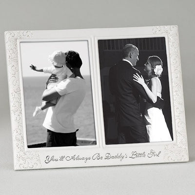 Dad and Bride Frame Photo 4x6