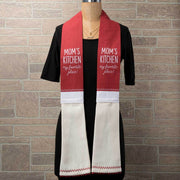 Mom's Kitchen Scarf (Red)