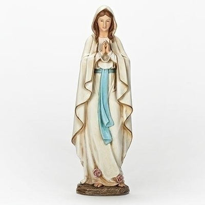 Our Lady of Lourdes Statue (13 1/2