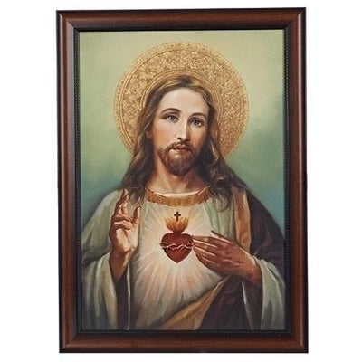 The Sacred Heart of Jesus Framed Art ( 27