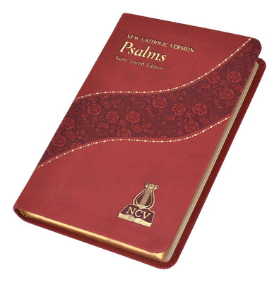 The Psalms: New Catholic Version (Burgundy Leatherette)