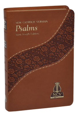 The Psalms: New Catholic Version (Brown Leatherette)
