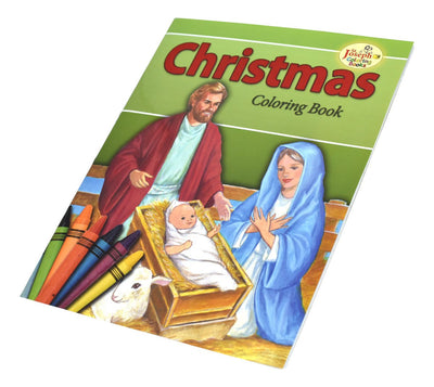 Christmas Coloring Book - Unique Catholic Gifts