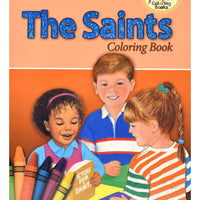 The Saints Coloring Book - Unique Catholic Gifts