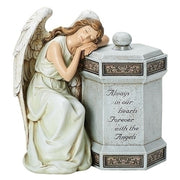 "11.75""H ANGEL MEMORIAL BOX GARDEN - Unique Catholic Gifts"