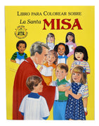La Santa Misa Libro para Colorear sobre - Unique Catholic Gifts