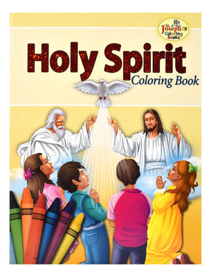 Coloring Book About The Holy Spirit - Unique Catholic Gifts