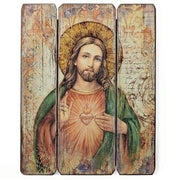 "Sacred Heart of Jesus Wall Panel (15"") - Unique Catholic Gifts"
