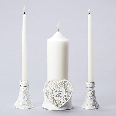 Unity Candle Holder Set (3 piece set)