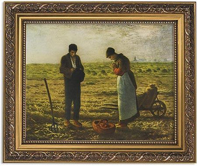 Millet: The Angelus Framed Picture