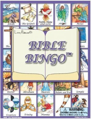 Bible Bingo Game - Unique Catholic Gifts