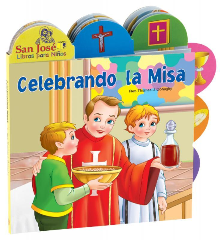 Celebrando La Misa por el Rev. Padre Thomas J. Donaghy - Unique Catholic Gifts