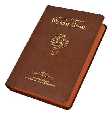 Saint Joseph Weekday Missal (Vol. I Large Type Edition) - Advent to Pentecost