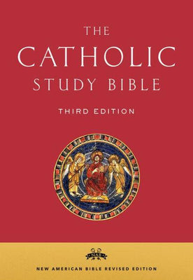 The Catholic Study Bible (Leather Binding Bonded Leather) - Unique Catholic Gifts