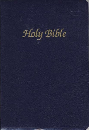First Communion Bible - Blue (Indexed) - Unique Catholic Gifts