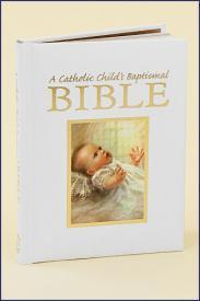 Catholic Child's Baptismal Bible Gift Book