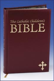 Catholic Children's Bible Maroon Gift Edition - Unique Catholic Gifts