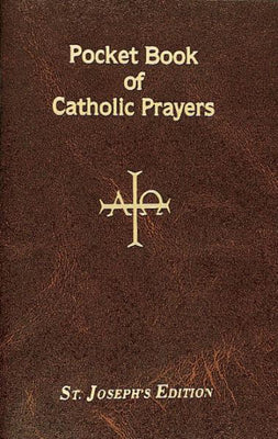 Pocket Book Of Catholic Prayers - Unique Catholic Gifts