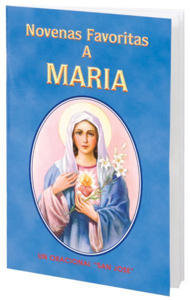 Novenas Favoritas A Maria - Unique Catholic Gifts