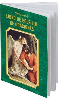 San Jose Libro De Bolsillo De Oraciones - Unique Catholic Gifts