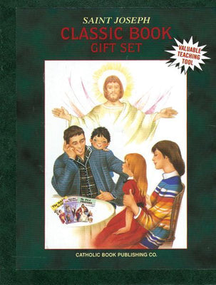 Saint Joseph Classic Book Gift Set - Unique Catholic Gifts