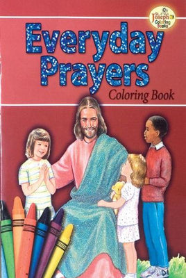 Coloring book on Everyday Prayers.