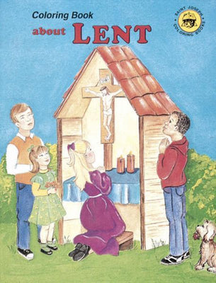 Lent Coloring Book - Unique Catholic Gifts