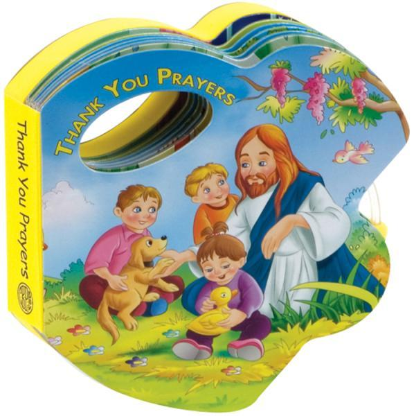 Thank You Prayers (Rattle Book) - Unique Catholic Gifts