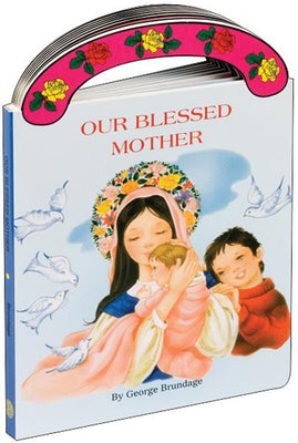 Our Blessed Mother by George Brundage - Unique Catholic Gifts