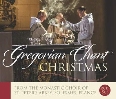 Christmas with Solesmes - 2CD Gift Set Gregorian Chant by The Monastic Choir of St. Peter's Abbey of Solesmes - Unique Catholic Gifts