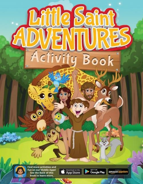 Little Saint Adventures Activity Book - Unique Catholic Gifts