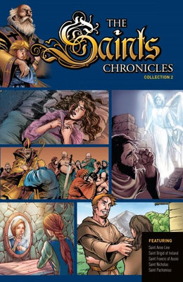Saints Chronicles Collection 2 by Dan Davis, Tod Smith, Ulises Arreola Palmera, - Unique Catholic Gifts