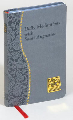Daily Meditations With St. Augustine - Unique Catholic Gifts