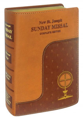 St Joseph Missal Dura-lux Brown - Unique Catholic Gifts