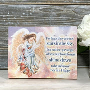 """Shine Down"" Lighted Mini Tabletop Canvas 8""x6"" - Unique Catholic Gifts"