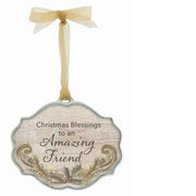 Amazing Friend Christmas Ornament
