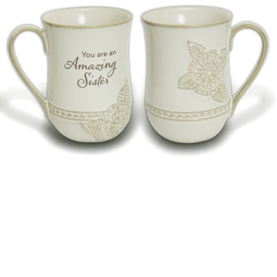 Amazing Sister Coffee Cup (19 oz) - Unique Catholic Gifts