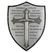 "Armor of God Wall Plaque (6 1/2  x 5"") - Unique Catholic Gifts"