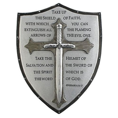 Armor of God Wall Plaque (6 1/2  x 5