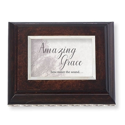 Amazing Grace Brown Vn Bx Bereavement Collection - Unique Catholic Gifts