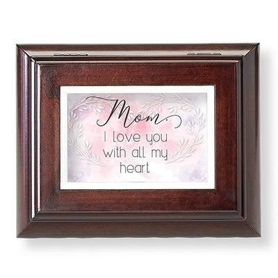 Mom I Love You Brown Vn Bx Family Collection - Unique Catholic Gifts
