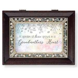 Garden of Love Brown Jlg Bx Family Collection - Unique Catholic Gifts